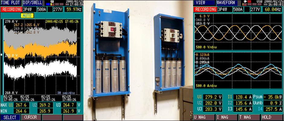 Nuestros servicios: Calidad de la energía